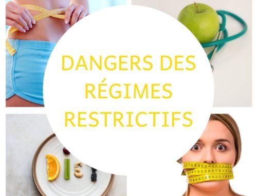 DANGERS DES RÉGIMES !