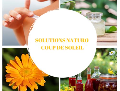 COUP DE SOLEIL: SOLUTIONS NATURELLES