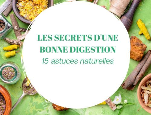 LES 15 SECRETS D'UNE BONNE DIGESTION